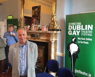 Lance Ringel at the International Dublin Gay Theatre Festival