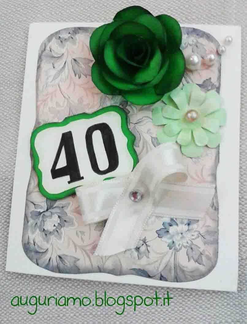 Favorito Auguriamo!: 40 anni di matrimonio US54