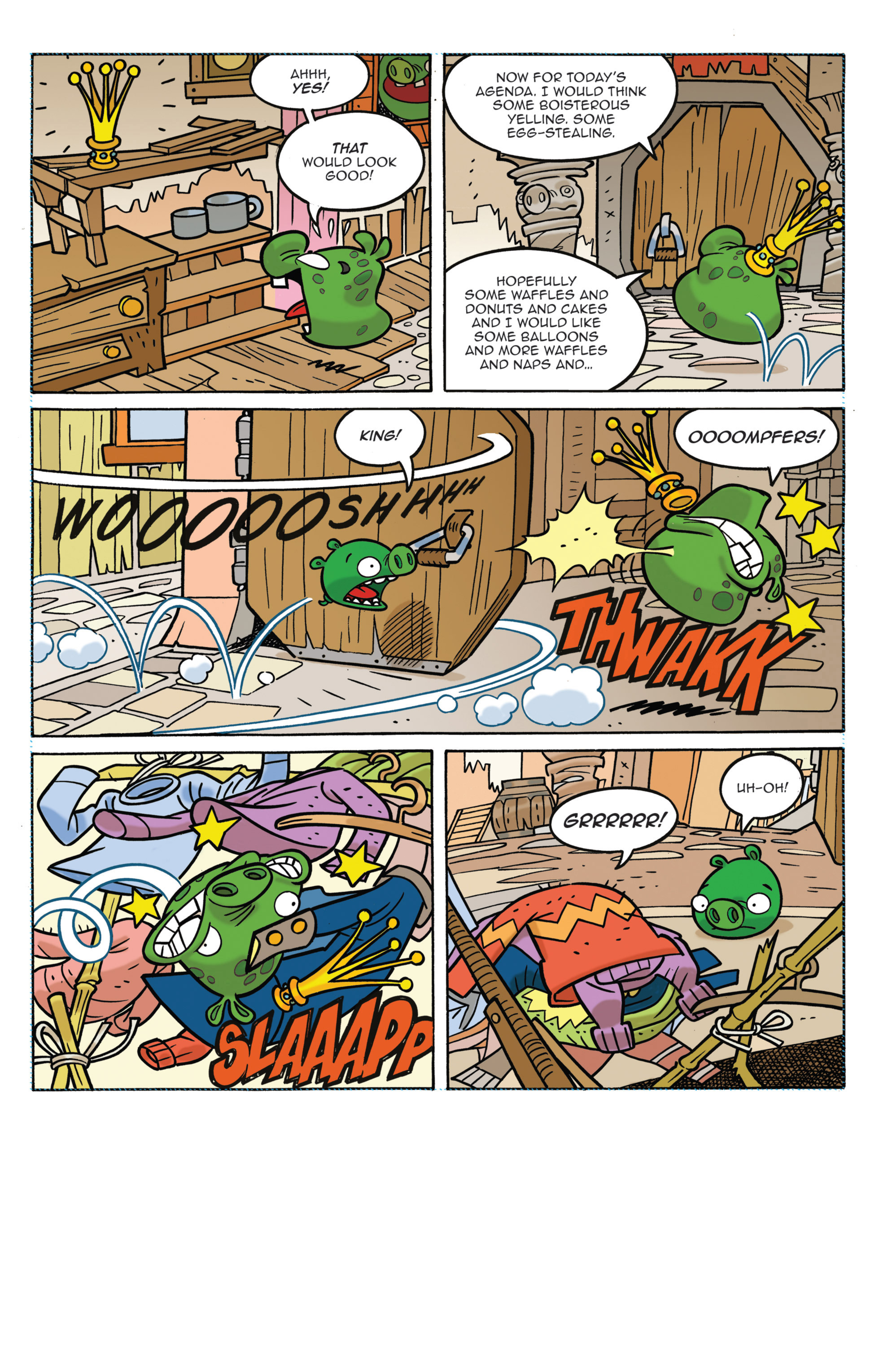 Read online Angry Birds Comics (2014) comic -  Issue #3 - 5