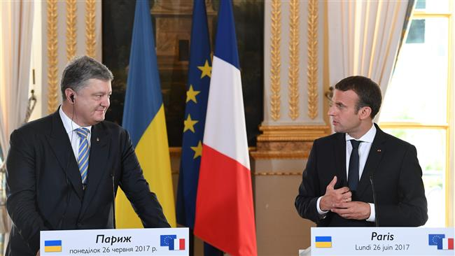 France will not recognize Black Sea Crimean Peninsula's integration into Russian Federation: French President Emmanuel Macron