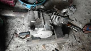Gambar enjin ex5 Dream setelah dibuka