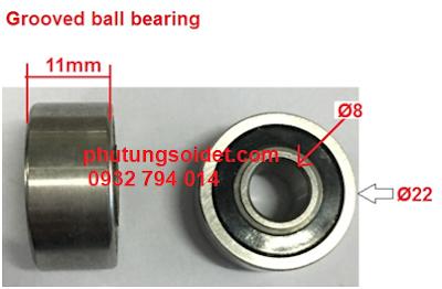 Vòng bi cầu rãnh – Grooved ball bearing