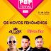 Aldair Playboy e Banda Mesa de Bar na primeira edição do Pop Festival Maiobão, sábado, dia 21 de julho