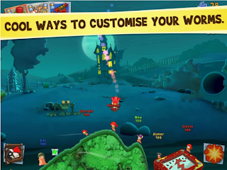 Worms 3 Games Screenshot 4