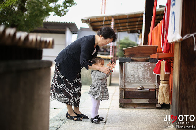 高濱神社でのお宮参り出張撮影