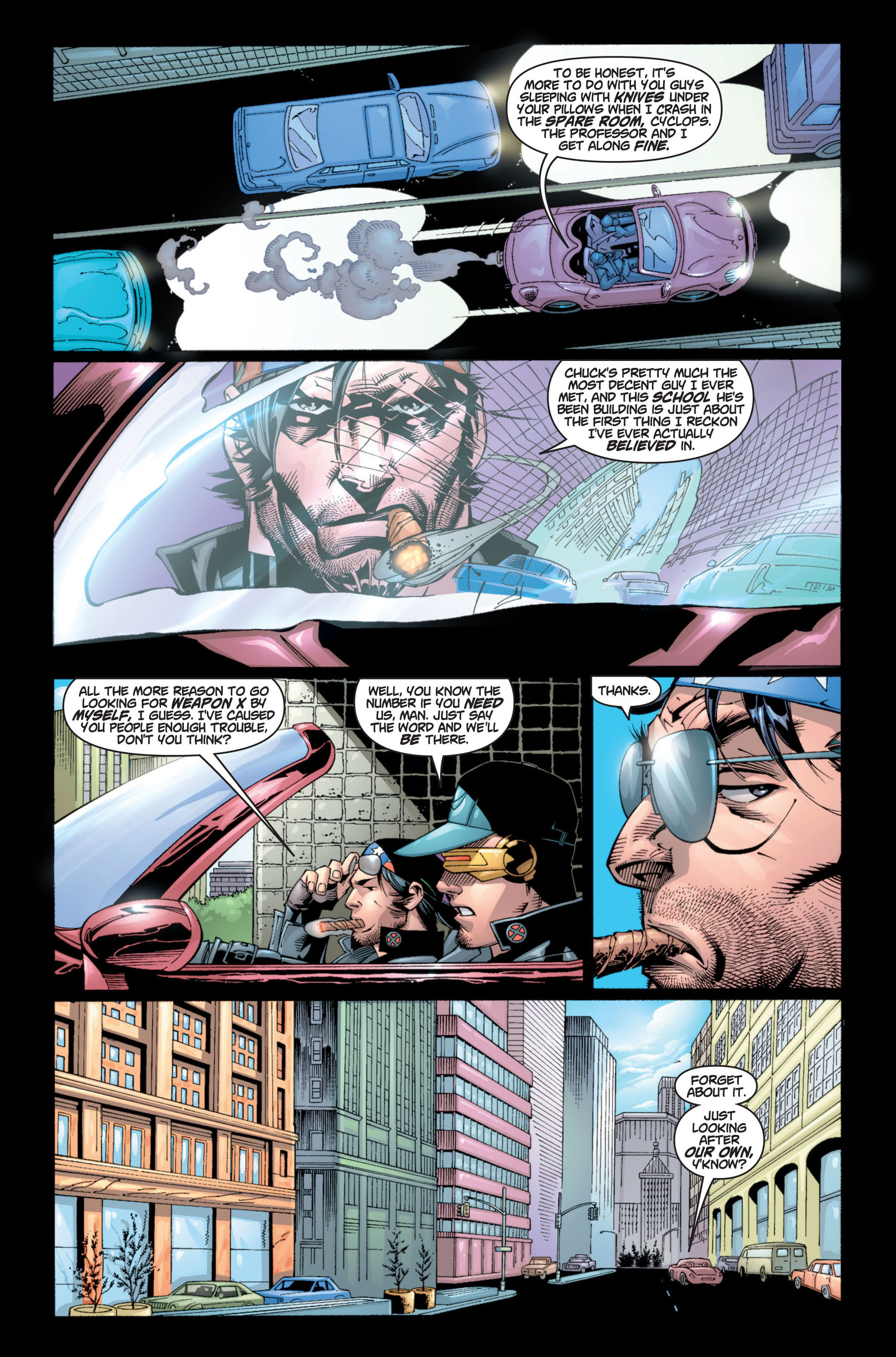 Read online Ultimate X-Men comic -  Issue #8 - 6