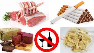 pantangan makanan penderita paru paru