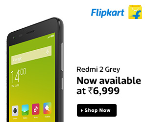 Redmi 2 Grey - At Just Rs. 6,999