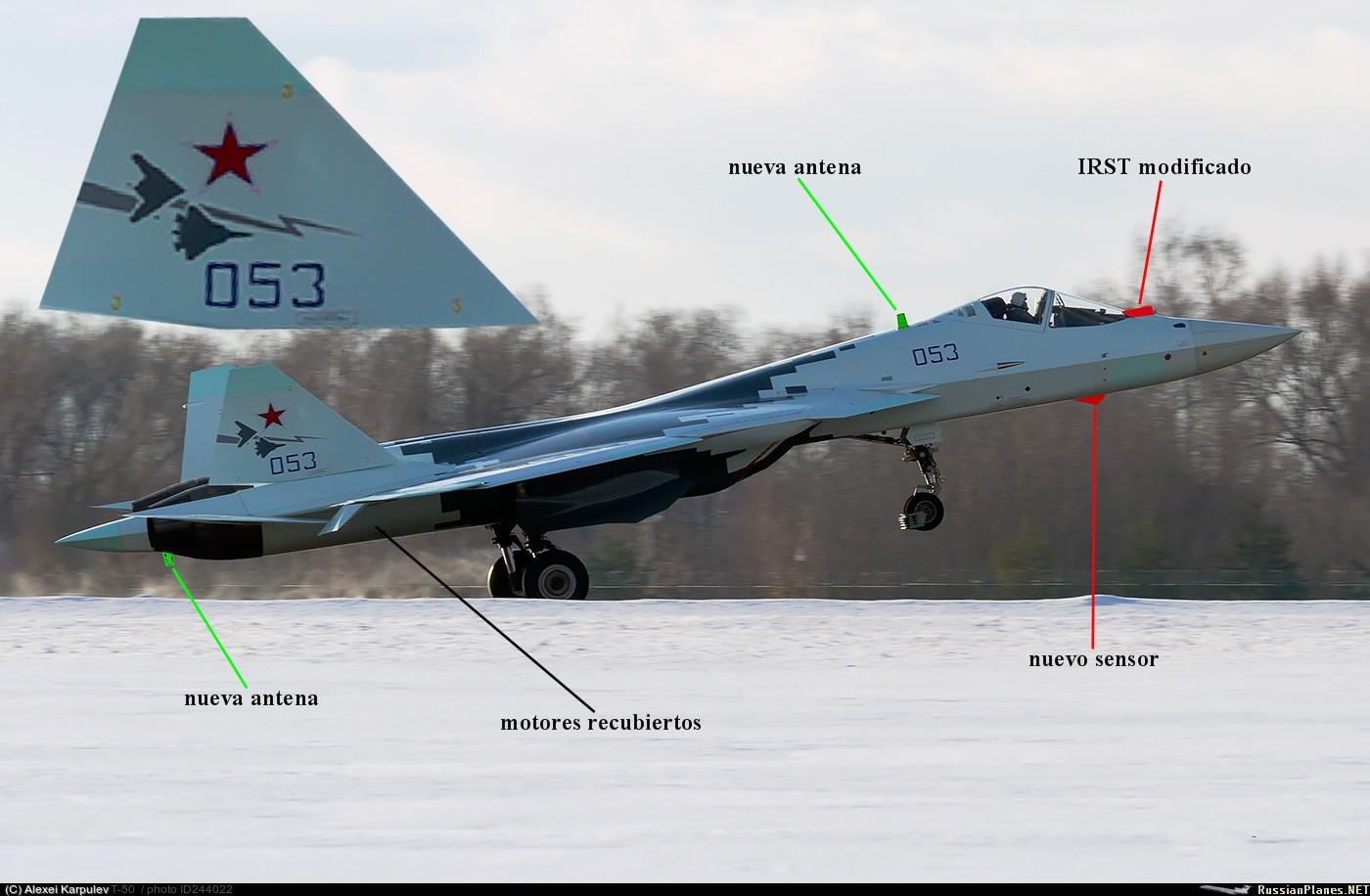 (PAK-FA) T-50 Ruso - Últimas noticias. - Página 4 Su-57%2Bdetalles