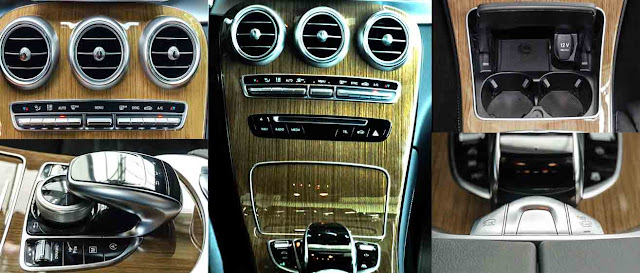 Tựa tay Mercedes GLC 250 4MATIC 2019 được thiết kế nổi bật với rất nhiều tiện ích