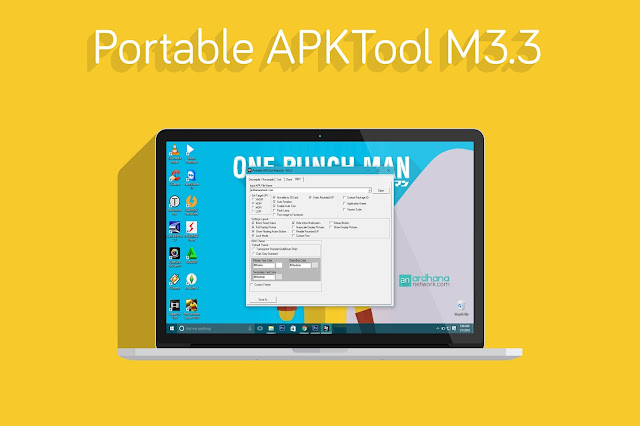 Portable APKTool M3.3 - Software Decompile Recompile BBM Android