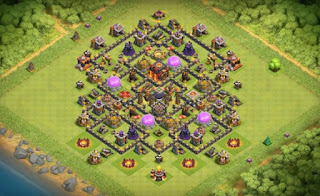 Town Hall 9 Farming Base