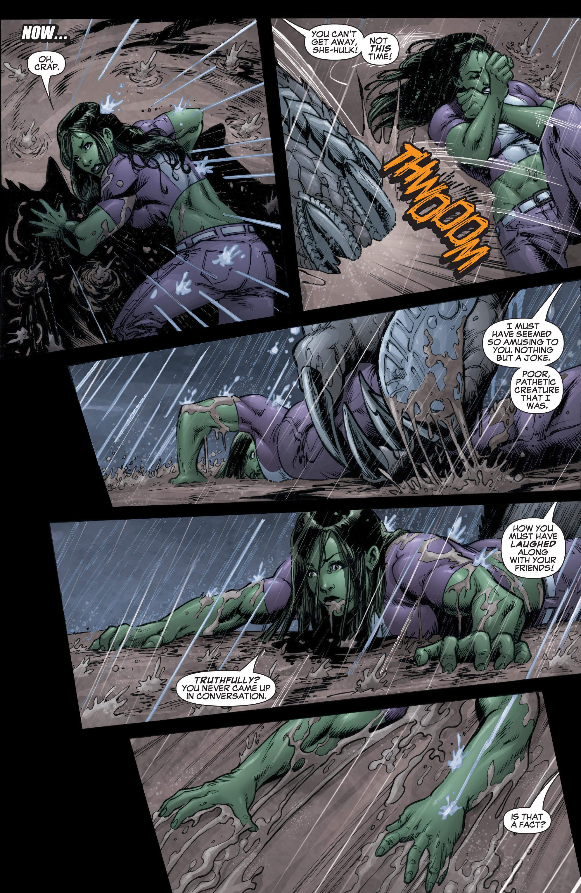 Read online She-Hulk (2005) comic -  Issue #37 - 8