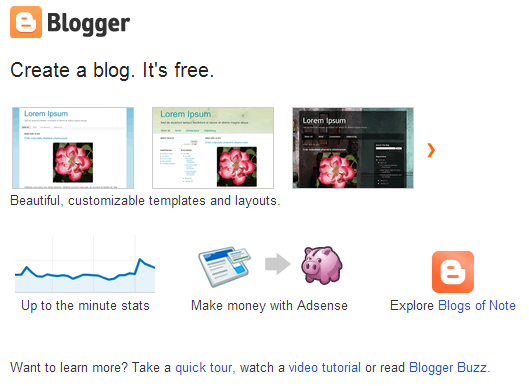 how to make a blog with your own domain name