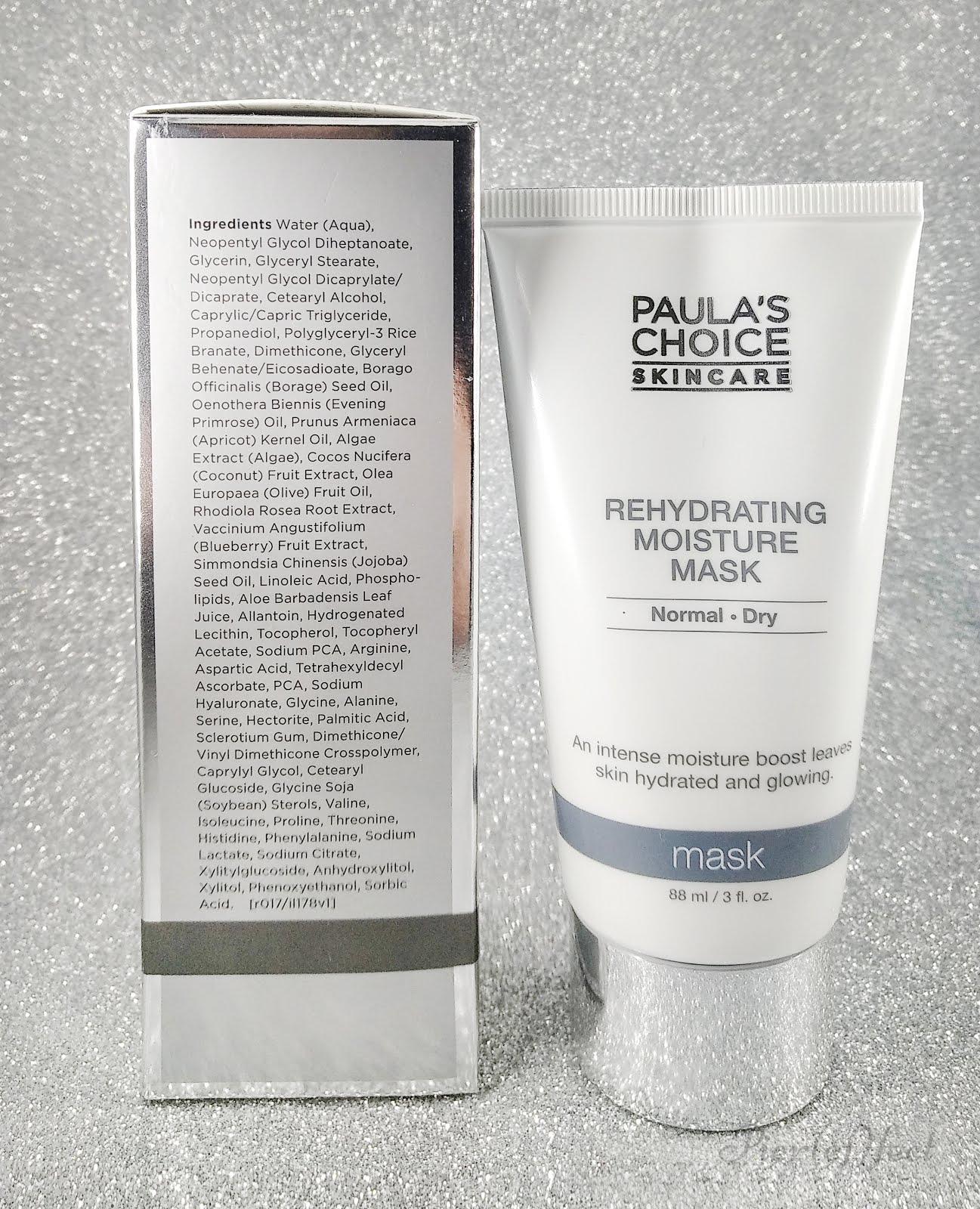 INCI Rehydrating Moisture Mask di Paula's Choice