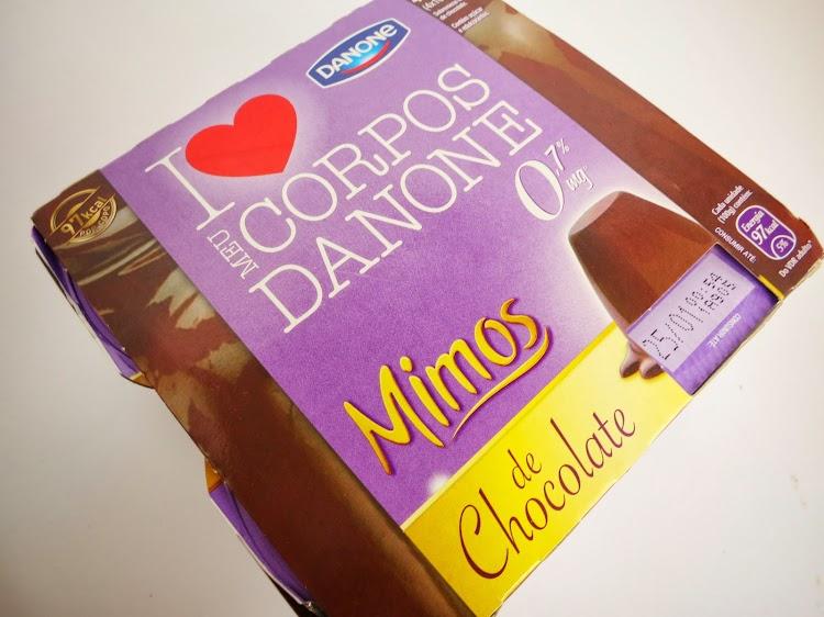 Corpos Danone Mimos de Chocolate