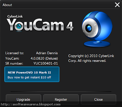 Cyberlink Youcam 4 Deluxe Screenshot