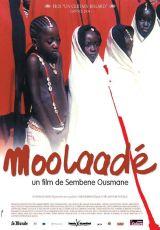 "Carátula del DVD: ""Moolaadé"""