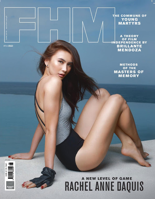 Rachel Anne Daquis FHM June 2016 Cover Girl