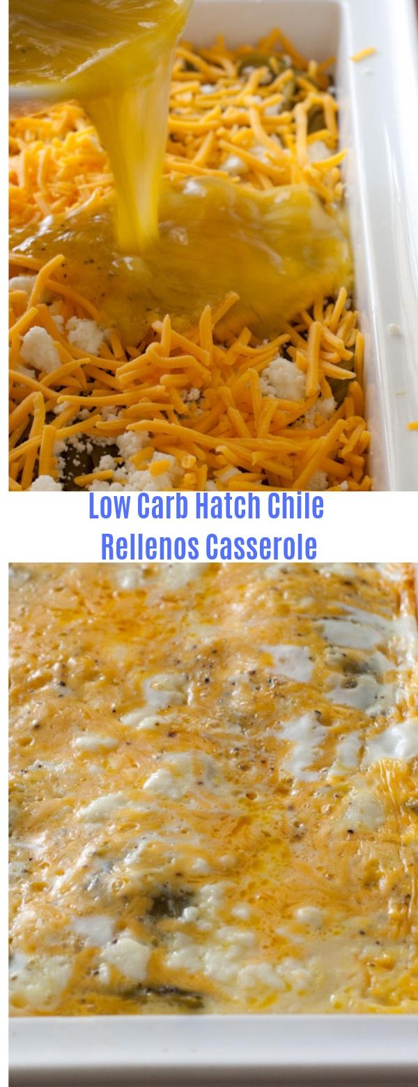 Low Carb Hatch Chile Rellenos Casserole