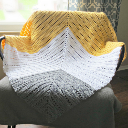 Expansion Baby Blanket - Free Pattern