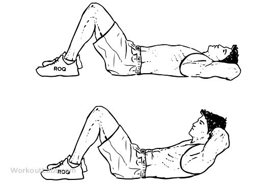 Cara Melakukan SIT UP Yang Baik dan Benar