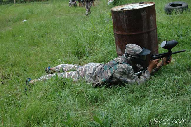 wisata batu malang, paintball sahabat air