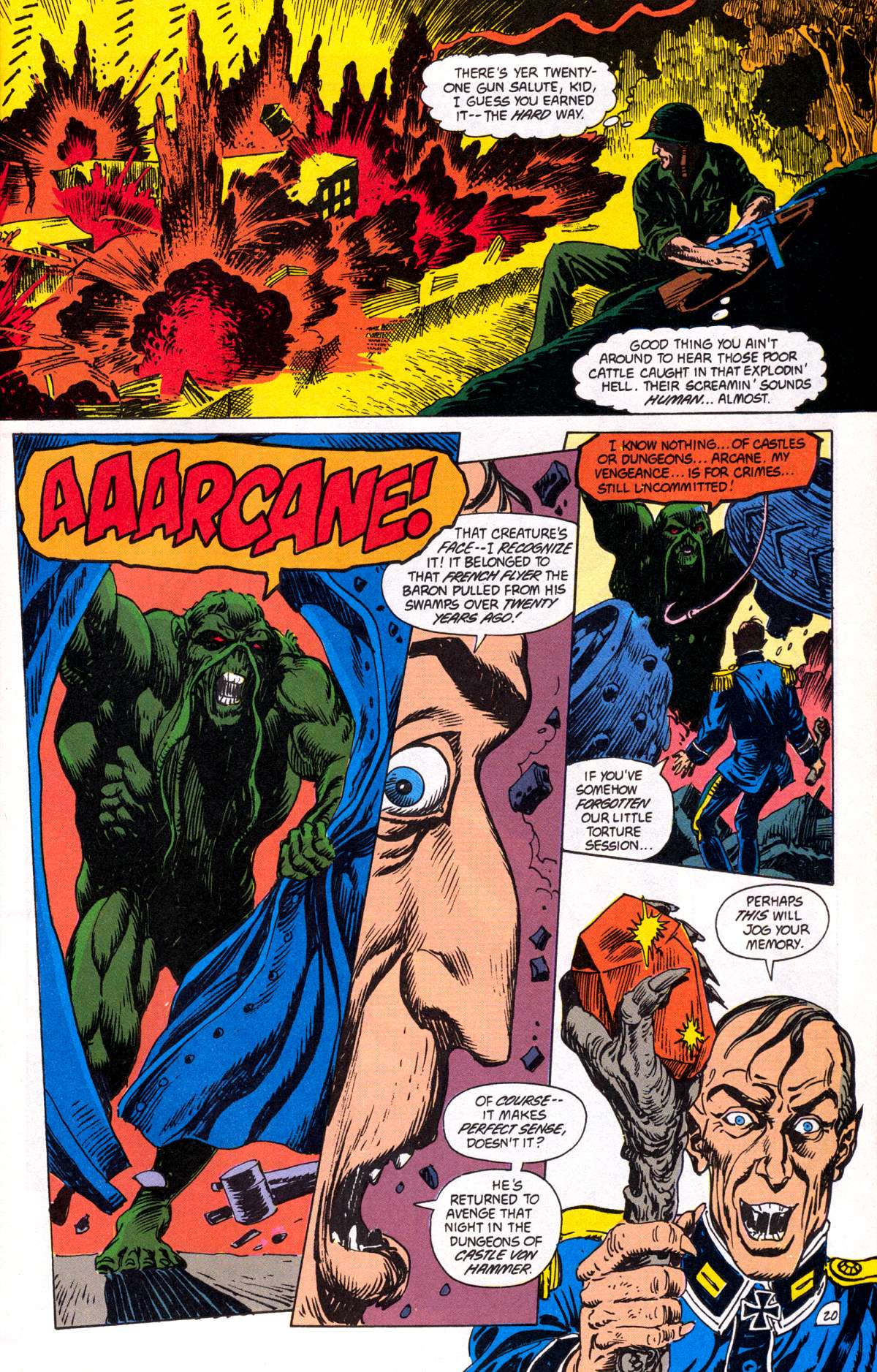 Swamp Thing (1982) Issue #82 #90 - English 21