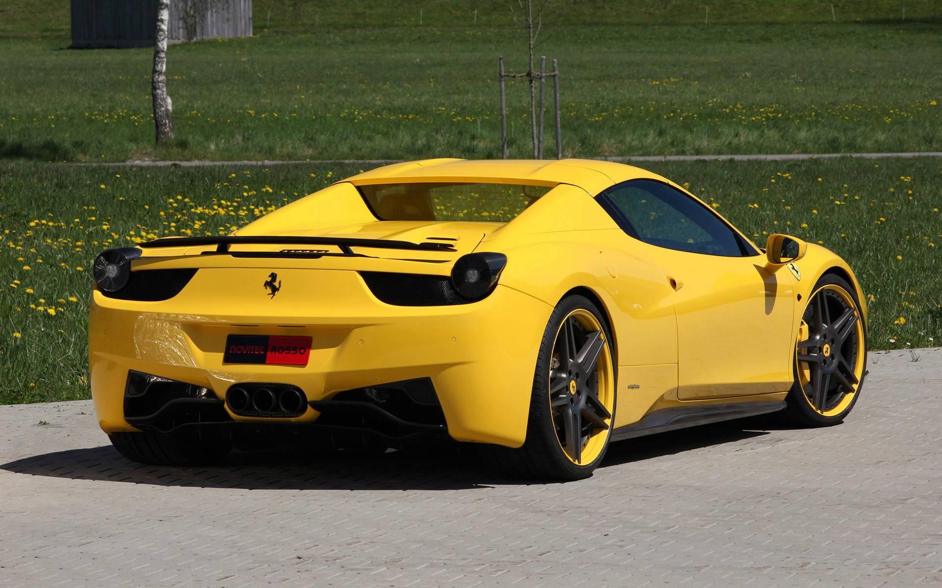 vehicle yellow sports car -#main