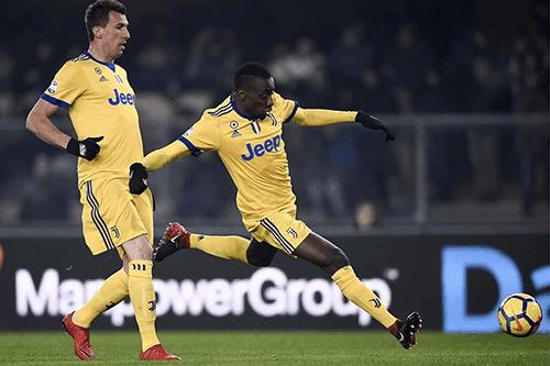 Blaise Matuidi mencetak gol keduanya setelah berseragam Juventus