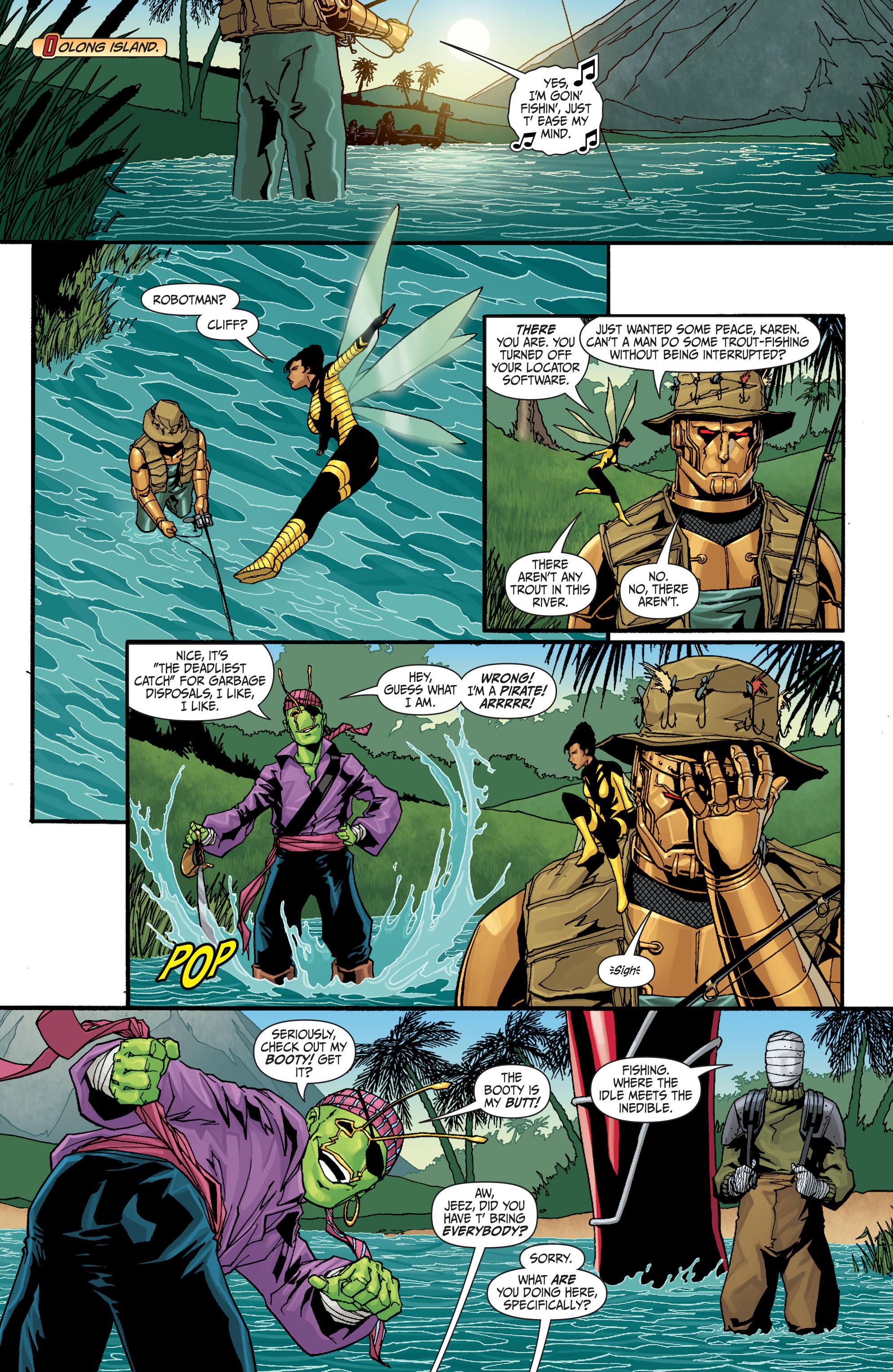 Read online Secret Six (2008) comic -  Issue #30 - 10