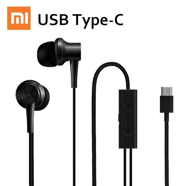 Xiaomi's latest USB Type-C earphones : Hi-Res audio with active noise cancellation