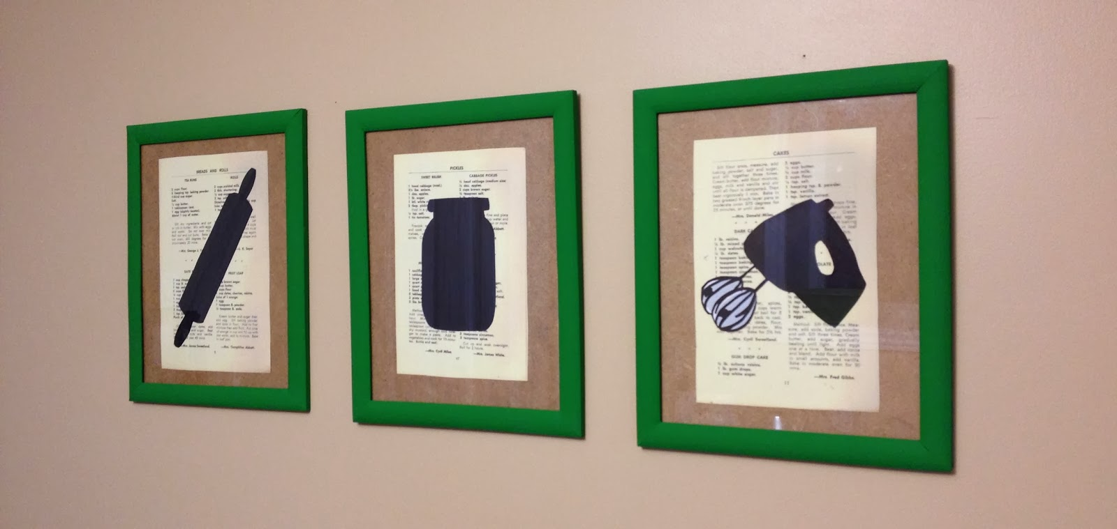Diy kitchen wall art ideas elitflat my food infatuation diy kitchen wall art solutioingenieria Gallery