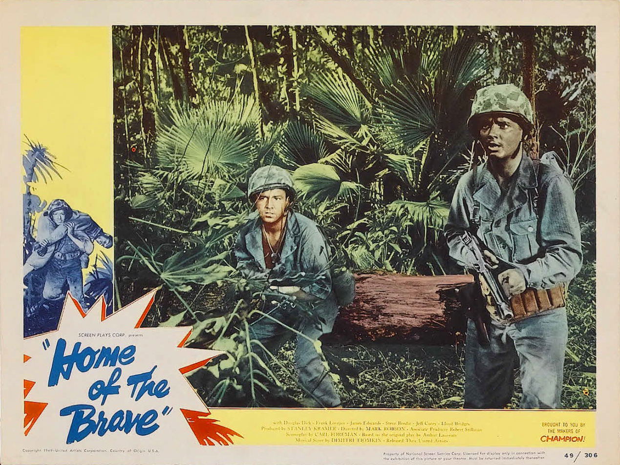 Image result for home of the brave movie 1949