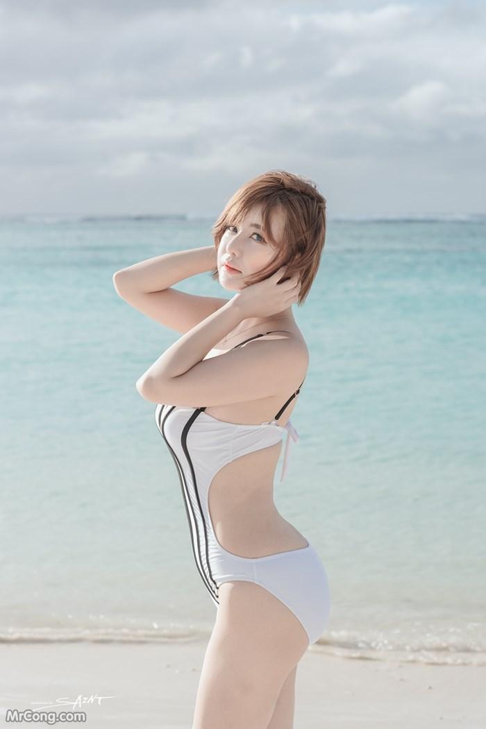 Image Ryu-Ji-Hye-Hot-Thang-4-2017-MrCong.com-001 in post Người đẹp Ryu Ji Hye nóng bỏng khoe dáng cùng trang phục tắm biển 4/2017 (35 ảnh)