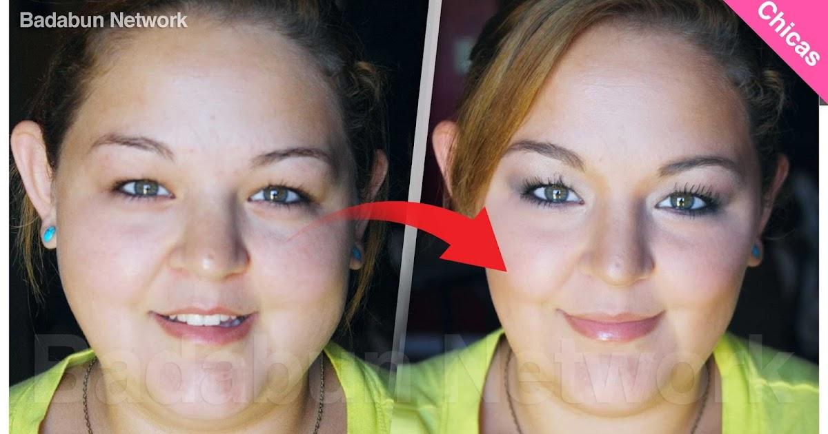 cara cachetes sobrepeso maquillaje contorno