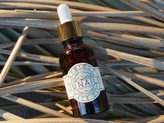 Junaili Apricot Face Oil Review India