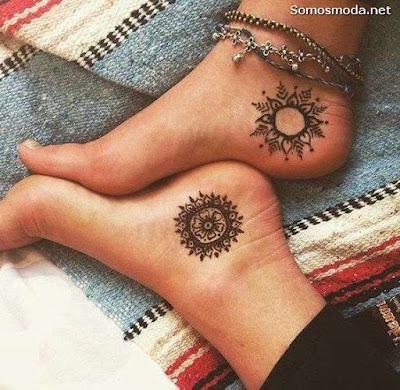 Tatuajes para Mujer en el Pie