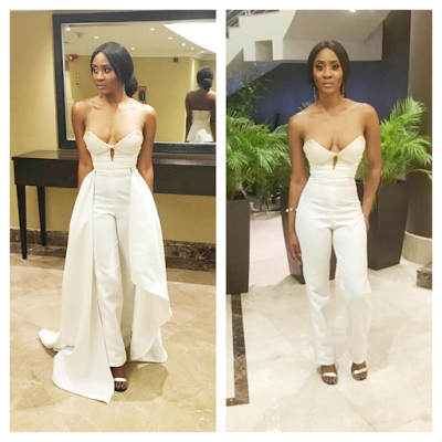 Actress & Singer, Toni Tones Bares Too Much Cleavage At A Movie Premiere