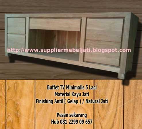Jual Furniture Minimalis Jepara Buffet Minimalis Keren