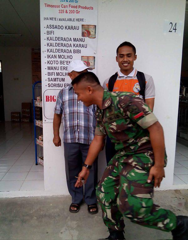 TNI Diperbatasan Timor Leste