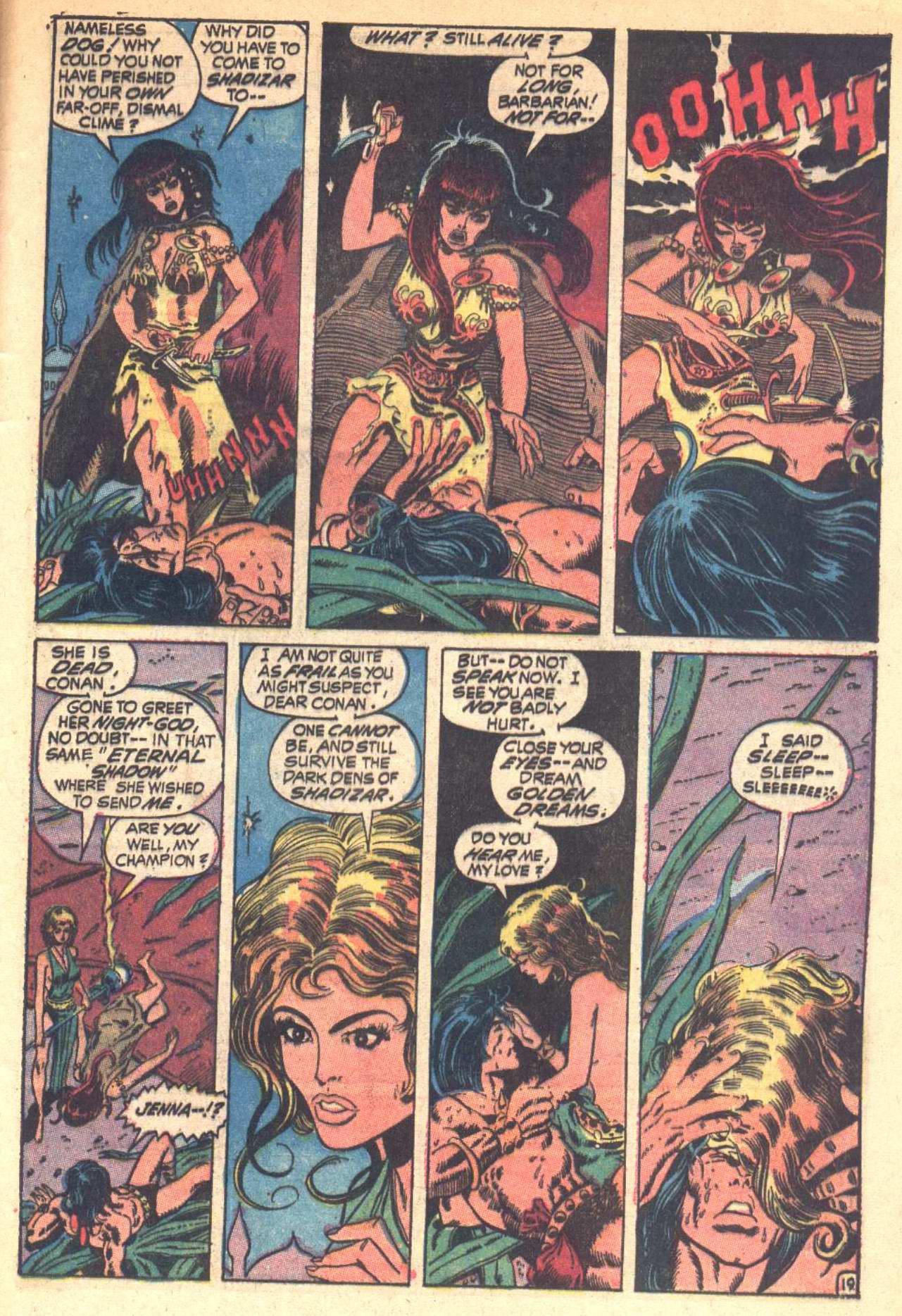 Conan the Barbarian (1970) Issue #6 #18 - English 20