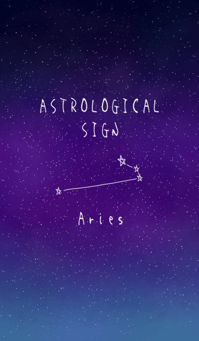 ASTROLOGICAL SIGN(Aries)