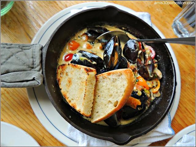 Sautéed Mussels en Kittery