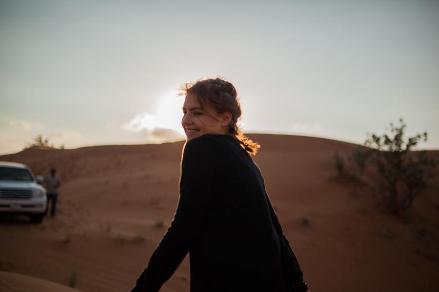 jasmin fatschild desert safari dubai