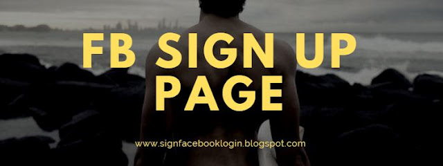 Fb Sign Up Page