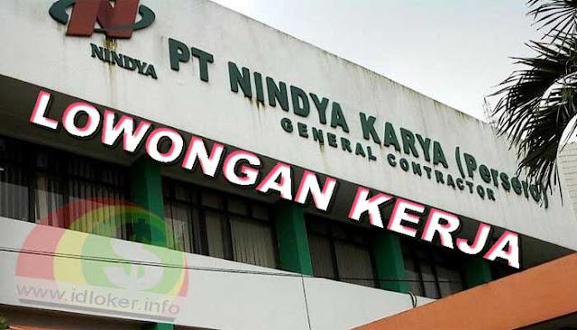 Lowongan Kerja BUMN PT Nindya Karya (Persero) Terbaru 2019