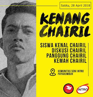 Kenang Charil Anwar  KS Intro Gelar Seni Pertunjukan dan Peluncuran Buku