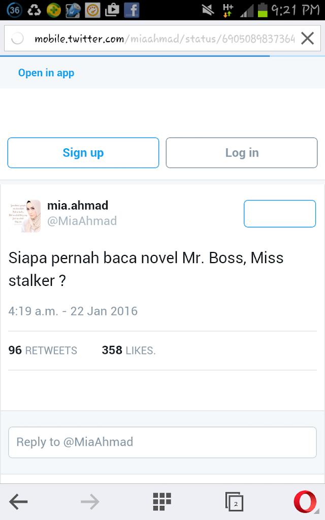 Mr. Boss, Miss Stalker