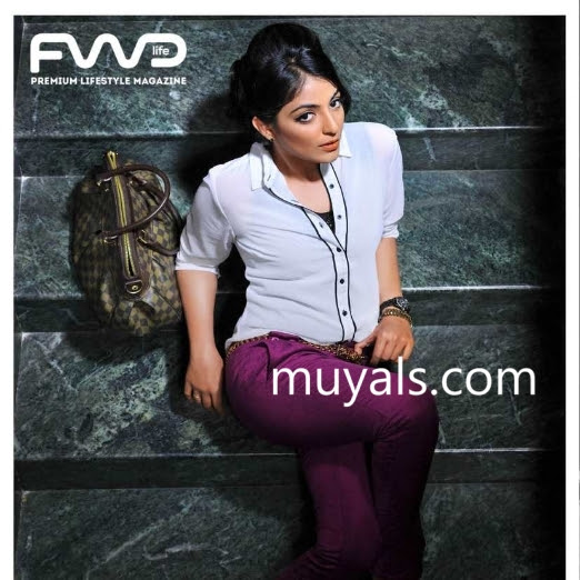 Mythili latest hot photos from FWD Life magazine